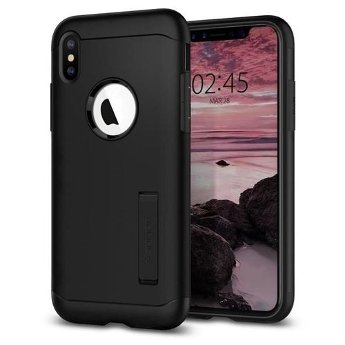 SPIGEN Slim Armor iPhone XS black