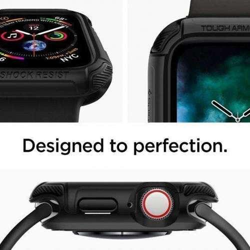 SPIGEN TOUGH ARMOR APPLE WATCH 4/5 (44MM) BLACK