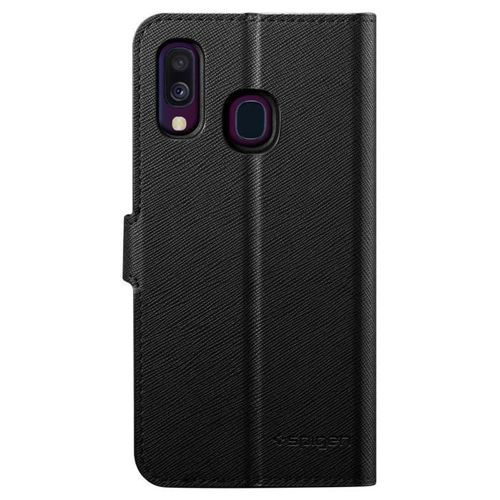 SPIGEN WALLET S GALAXY A40 BLACK