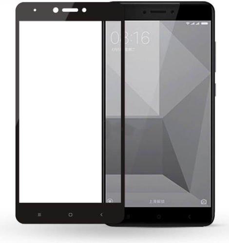 SZKŁO HARTOWANE FULL GLUE Xiaomi REDMI NOTE 4X czarny