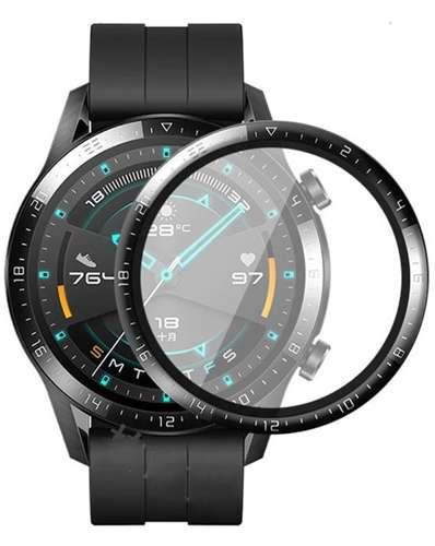 Szkło Hybrydowe FULL 3D Huawei Watch GT 2 46mm czarny