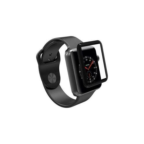 Szkło hartowane 5D APPLE WATCH 42mm na smartwatch Full Glue czarne