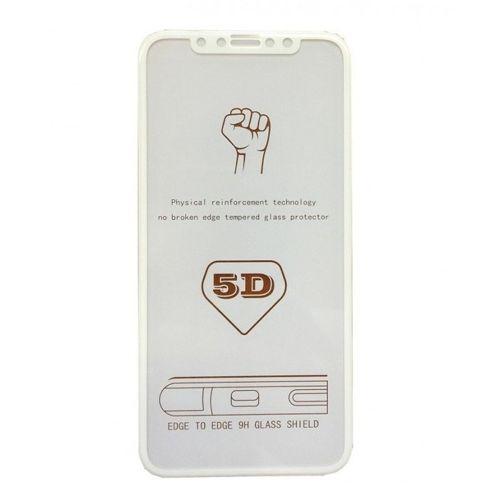 Szkło hartowane 5D IPHONE 8 białe