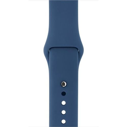TECH-PROTECT SMOOTH opaska pasek bransoleta BAND APPLE WATCH 1/2/3 (38MM) MIDNIGHT BLUE