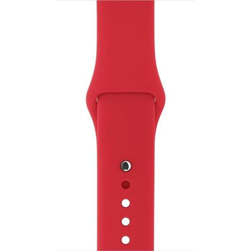TECH-PROTECT SMOOTH opaska pasek bransoleta BAND APPLE WATCH 1/2/3 (38MM) RED