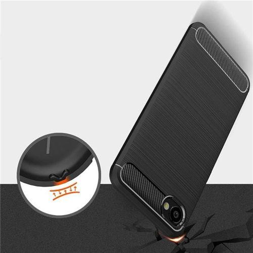 TECH-PROTECT etui TPUCARBON  HTC DESIRE 12 BLACK