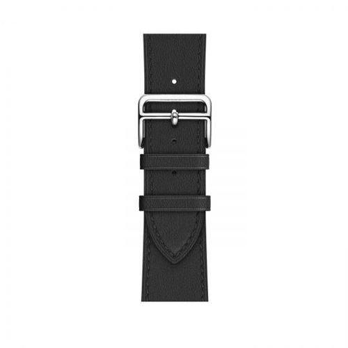 TECH-PROTECT opaska pasek bransoleta LEATHER APPLE WATCH 1/2/3 (38MM) BLACK
