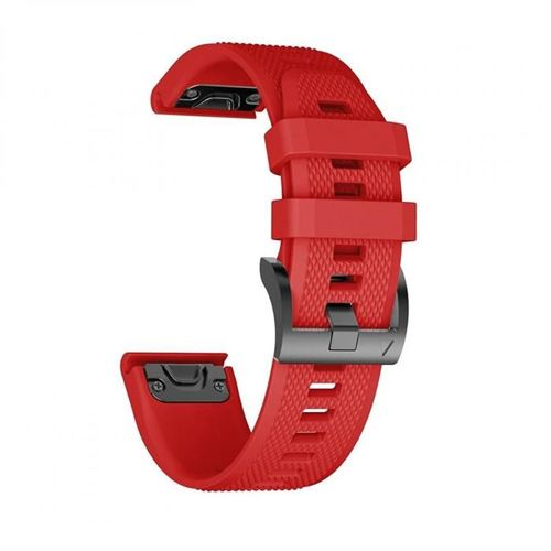 TECH-PROTECT opaska pasek bransoleta SMOOTH GARMIN FENIX 5S RED