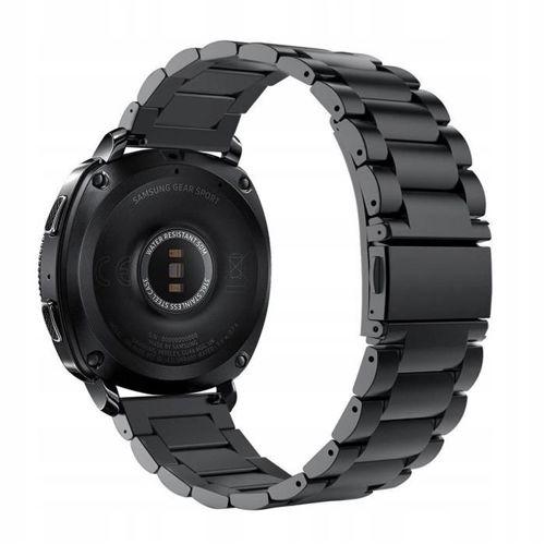 TECH-PROTECT opaska pasek bransoleta STAINLESS SAMSUNG GEAR S2/GEAR SPORT BLACK