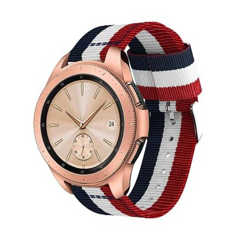 TECH-PROTECT opaska pasek bransoleta WELLING GALAXY WATCH 42MM NAVY/RED