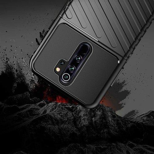 Thunder Case elastyczne pancerne etui pokrowiec Xiaomi Redmi Note 8 Pro zielony