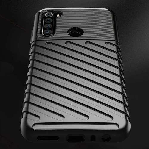 Thunder Case elastyczne pancerne etui pokrowiec Xiaomi Redmi Note 8T czarny