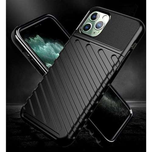 Thunder Case elastyczne pancerne etui pokrowiec iPhone 11 Pro Max niebieski