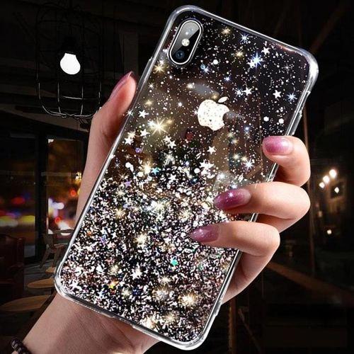 Wozinsky Star Glitter błyszczące etui pokrowiec z brokatem Samsung Galaxy A40 zielony