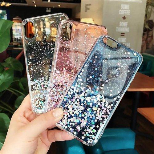Wozinsky Star Glitter błyszczące etui pokrowiec z brokatem iPhone 11 Pro czarny