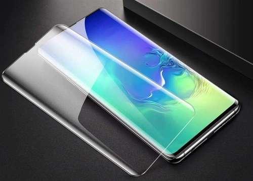 Wozinsky Tempered Glass UV szkło hartowane UV 9H Samsung Galaxy S20 Plus (in-display fingerprint sensor friendly) - szkło bez kleju i lampki LED
