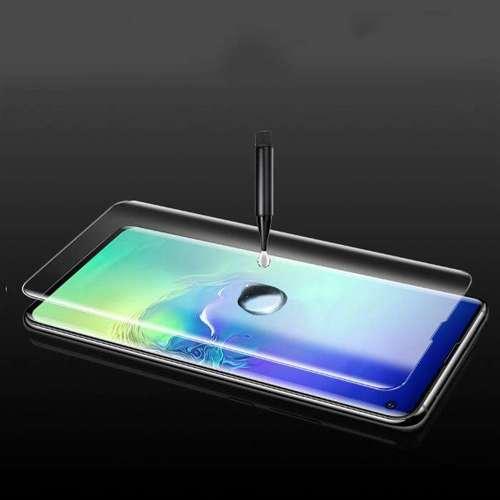 Wozinsky Tempered Glass UV szkło hartowane UV 9H Samsung Galaxy S20 Ultra (in-display fingerprint sensor friendly) - szkło bez kleju i lampki LED