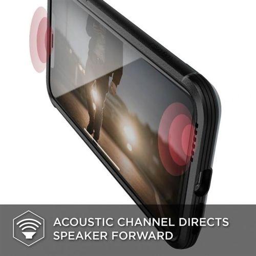 X-DORIA DEFENSE LUX IPHONE XS MAX BLACK LEATHER
