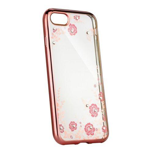 XIAOMI REDMI 8A Etui elastyczne żelowe Back case flower jasny róż