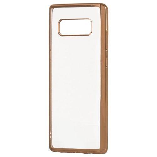 Żelowy pokrowiec etui Metalic Slim LG K10 2018 / K11 złoty