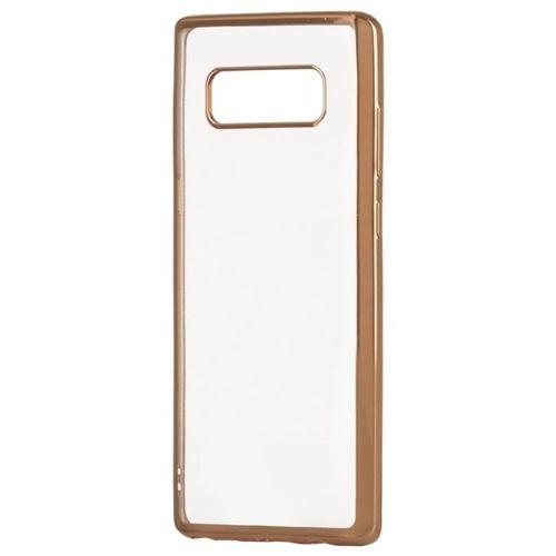 Żelowy pokrowiec etui Metalic Slim Samsung Galaxy S9 G960 złoty