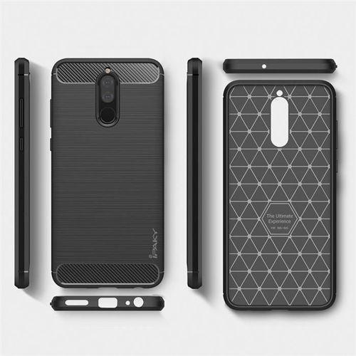 iPaky Slim Carbon elastyczne etui pokrowiec Huawei Mate 10 Lite niebieski