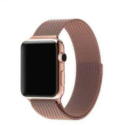 opaska pasek bransoleta MILANESEBAND Apple Watch 1/2/3/4/5/6/SE 42/44mm ROSE GOLD
